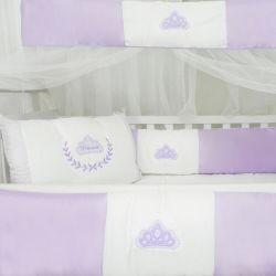 Kit Berço Princesa Lilás