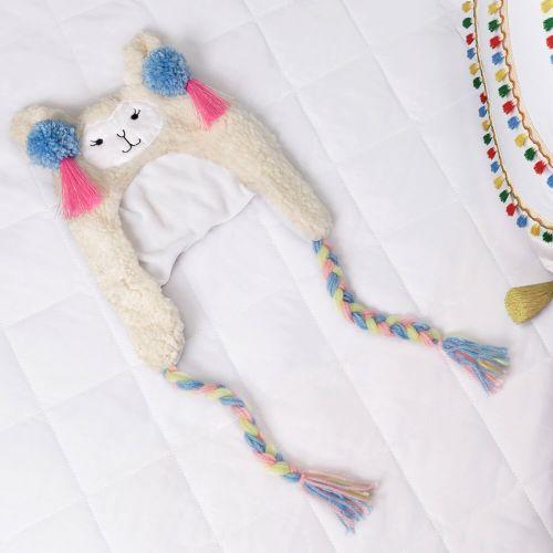 Touca de Bebê Amiguinha Lhama