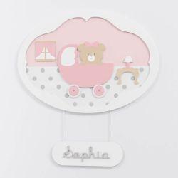 Porta Maternidade Personalizado Princesa Clássica