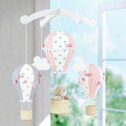 Móbile Nuvens e Balões Princesa Clássica