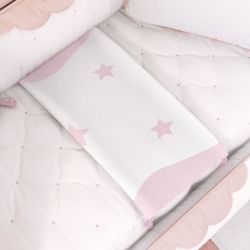 Manta Bebê Tricot Estrelas 75cm