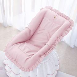 Capa de Bebê Conforto Ursinha Realeza Rosa