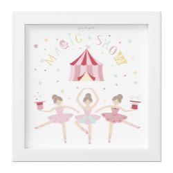 Quadro Circo Bailarinas Trapezistas