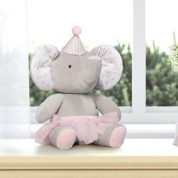 Bichinho de Pelúcia Elefante Baby do Circo 45cm