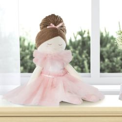 Boneca de Pano Mimo Bailarina Trapezista 48cm