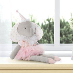 Boneca de Pelúcia Elefante Bailarina do Circo 48cm