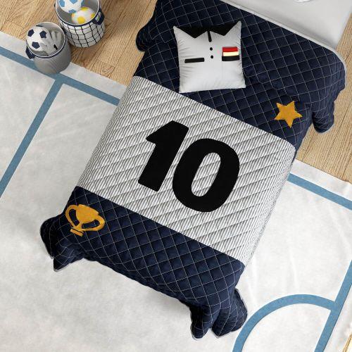 Edredom Infantil Solteiro Camisa 10