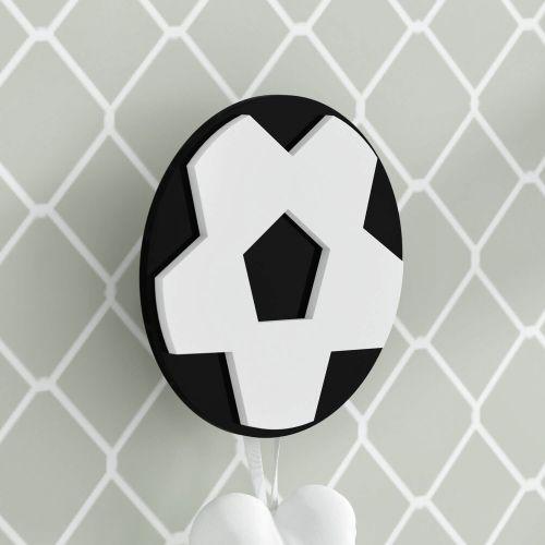Cabideiro de Parede Bola de Futebol