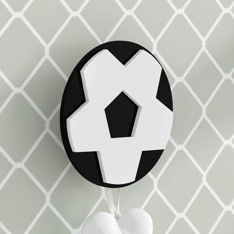 Cabideiro de Parede Bola de Futebol  3750a006f1c8d