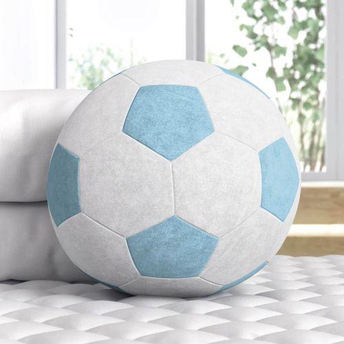 Bola de Futebol Azul 24cm