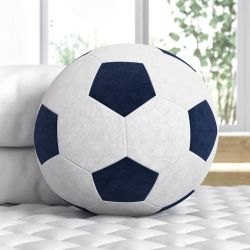 Bola de Futebol Azul Marinho 24cm