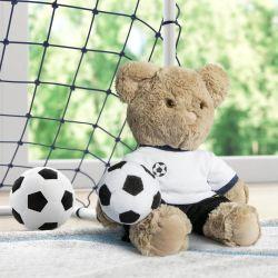 Ursinho Jogador de Futebol 40cm