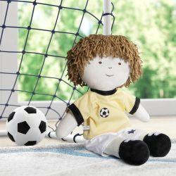 Boneco de Pano Naná Jogador de Futebol 43cm