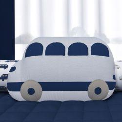 Almofada Ônibus Azul Marinho 45cm