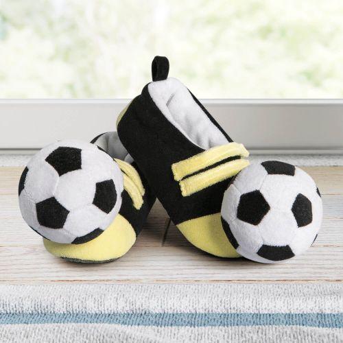 Pantufa Infantil de Pelúcia Futebol