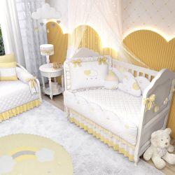 Quarto de Bebê Chuva de Amor Amarelo