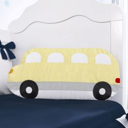 Almofada Ônibus Amarela/Cinza 50cm