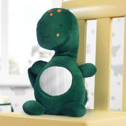 Bichinho de Pelúcia Amiguinho Dino Pepê com Espelho 34cm