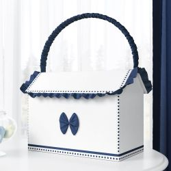 Farmacinha Ursinho Bebê Azul Marinho