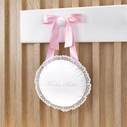 Porta Maternidade Rosa Clássico