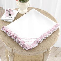 Cobertor Rosa Clássico