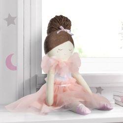 Boneca de Pano Bailarina Estrelinhas