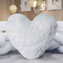 Almofada Coração Pelúcia 30cm