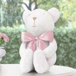 Urso Rosa Clássico 42cm