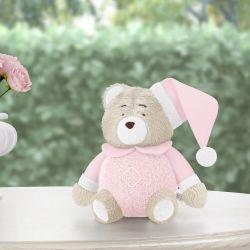 Urso Soneca Rosa Clássico 12cm