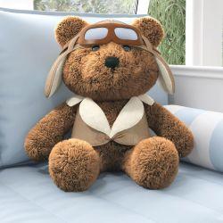 Urso Aviador Marrom 66cm