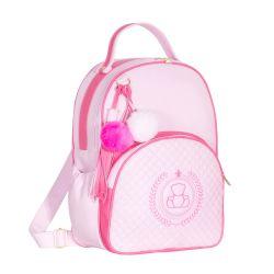 Mochila Maternidade Ursinho Rosa/Pink