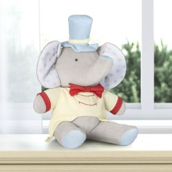 Bichinho de Pelúcia Elefante Mágico do Circo 45cm