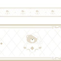 Faixa Adesiva de Parede Branco Clássico