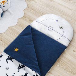 Saco de Dormir Infantil Jogadores 1,60m
