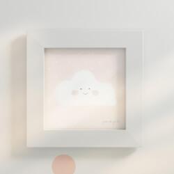 Quadro Nuvem Salmão 20cm