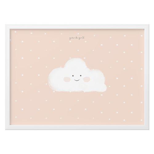Quadro Nuvem Salmão 46cm