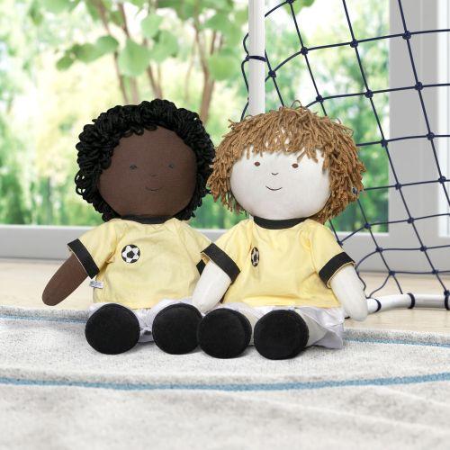 Bonecos de Pano Jogadores de Futebol 2 Peças