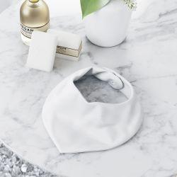 Babador Bandana Luxo Branco
