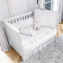 Quarto de Bebê Tricot Luxo Branco