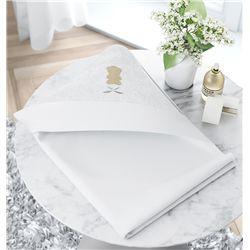 Toalha com Capuz Urso Luxo Branco