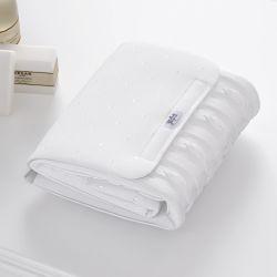 Trocador de Fraldas Portátil Tricot Luxo Branco