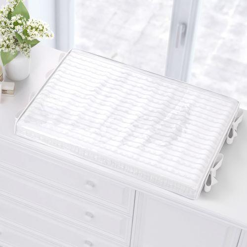Trocador de Fraldas Tricot Luxo Branco