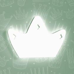Luminária de Parede Coroa