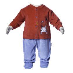 Macacão Longo Astronauta Vermelho
