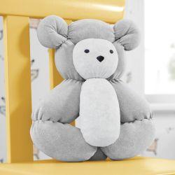 Urso Balú Cinza 37cm