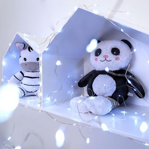 Fio de Fada Branco 10m com 100 Lâmpadas LED