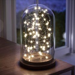 Fio de Fada Estrela Amarelo 10m com 100 Lâmpadas LED