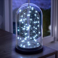 Fio de Fada Azul 10m com 100 Lâmpadas LED