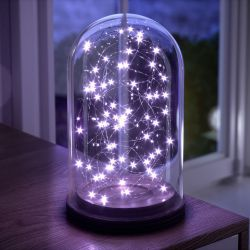 Fio de Fada Lilás 10m com 100 Lâmpadas LED