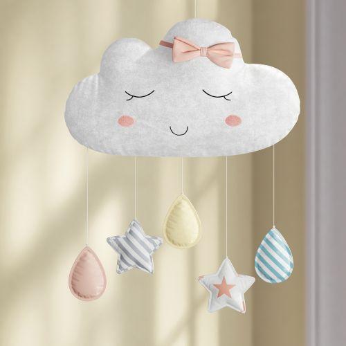Móbile Nuvem de Algodão